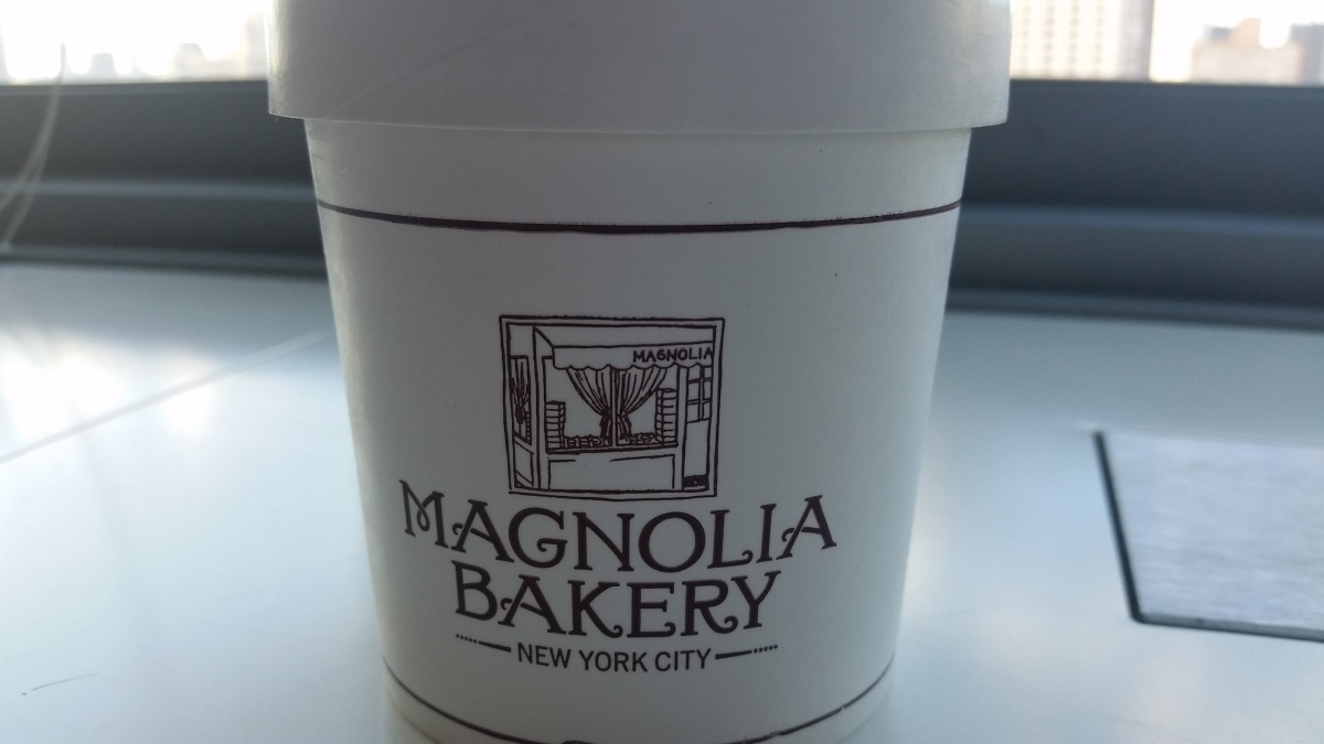 Magnolia Bakery, you're pretty spectacular!